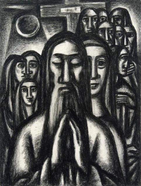 , 'Praying Man,' 1940s, Addison Rowe Gallery