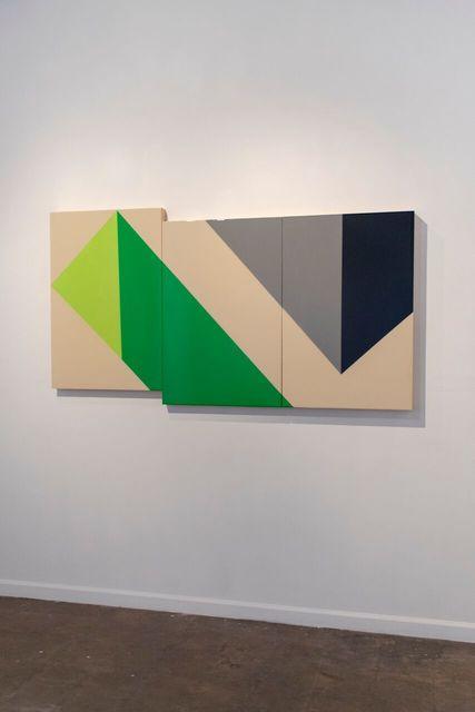 , 'Double Depth,' 2018, Galleri Urbane