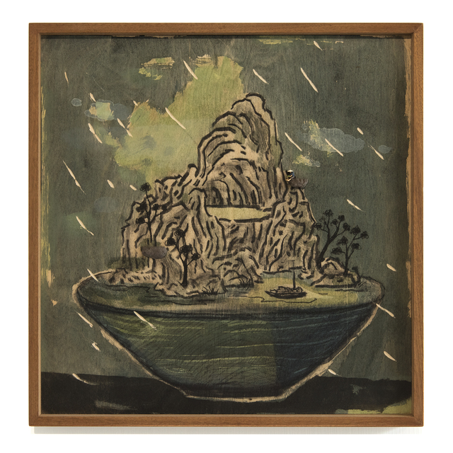 , 'Potted landscape no.5,' 2018, Blindspot Gallery
