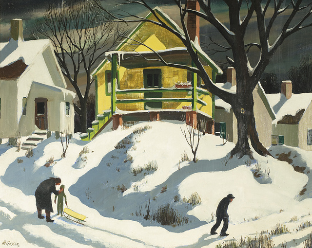, 'The Yellow House,' , Questroyal Fine Art