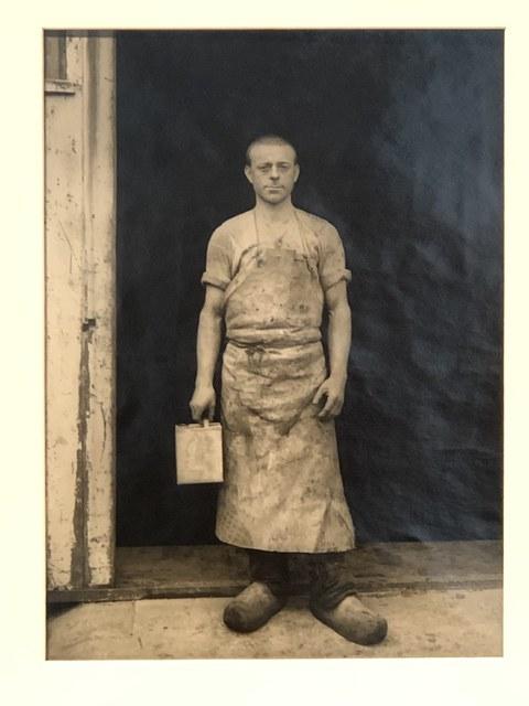 August Sander, 'Varnisher', 1932, Anders Wahlstedt Fine Art