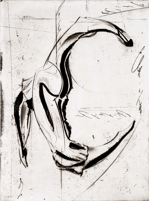 Isaac Kahn, 'Dancer', 2014, Print, Etching on Paper, Blue Gallery