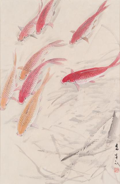 Chen Wen Hsi, 'Fishes', 33 Auction
