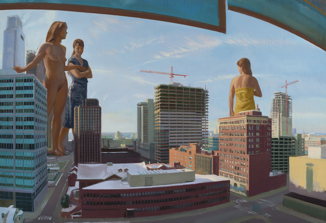 , 'The Graces Visit The City ,' 2017, Stanek Gallery