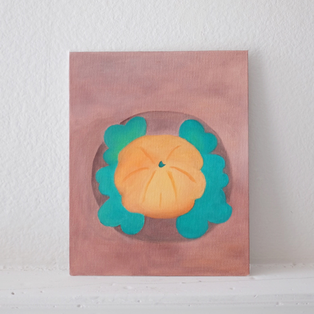 Kei Kei, 'Pumpkin Comes Out, and I Laugh', 2020, Painting, Oil on Canvas, Tsubakiyama Gallery
