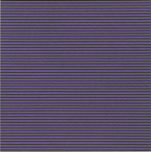 , 'stripes ; purple,' 2011, Galerie Denise René