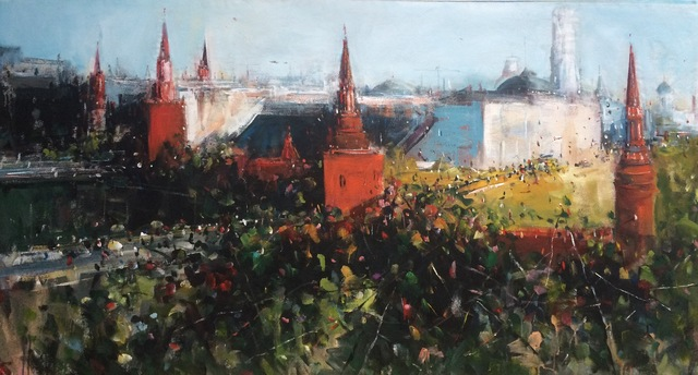 ", '""Kremlin 5"",' 2015, Krokin Gallery"