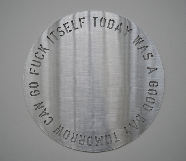 , 'Today Was A Good Day,' 2018, Olga Korper Gallery