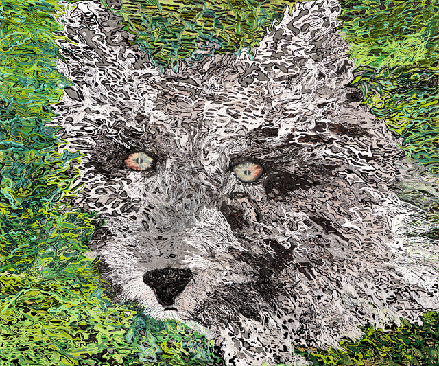 , 'WOLF,' 2014, Merkur