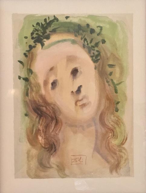 "Salvador Dalí, '""La Vergine Annunziata""', 1974, Gallery 104"