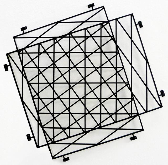 , 'Nicht So Konkret (Hommage an Morellet),' 2012, Galerie Michael Sturm