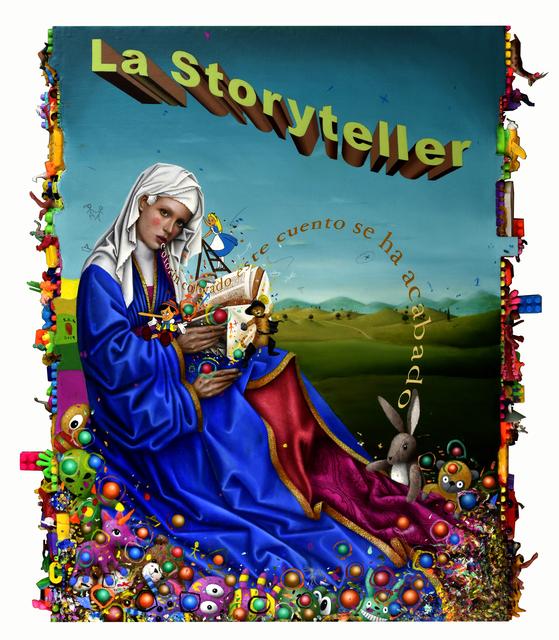 , 'La Storyteller,' 2018-2019, N2 Galería
