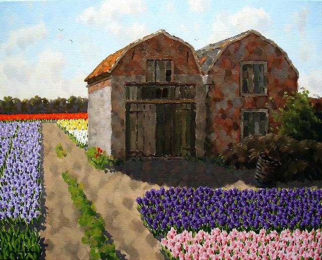 , 'Bulb sheds at Wassenaar,' ca. 2016, ArtBoutique