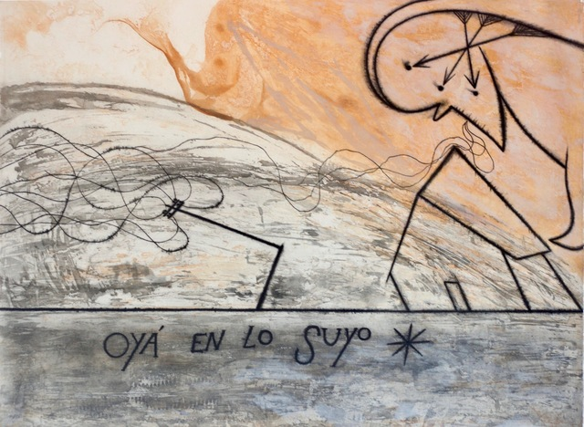 José Bedia, 'Oyá en lo suyo', 1997, Kunzt Gallery