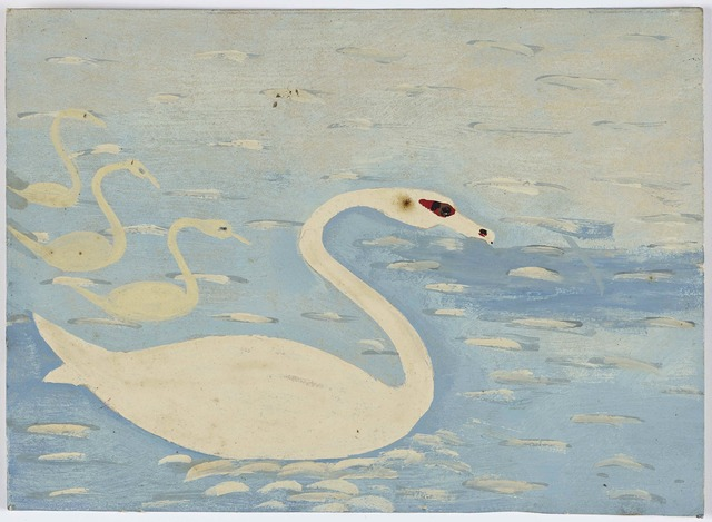 , 'Four Swans,' , Ingleby Gallery