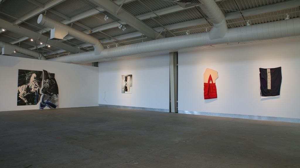The Presence of the Present: Teresa Baker, Liam Everett, Leslie Shows; installation view. Photo: Jay Jones / di Rosa.