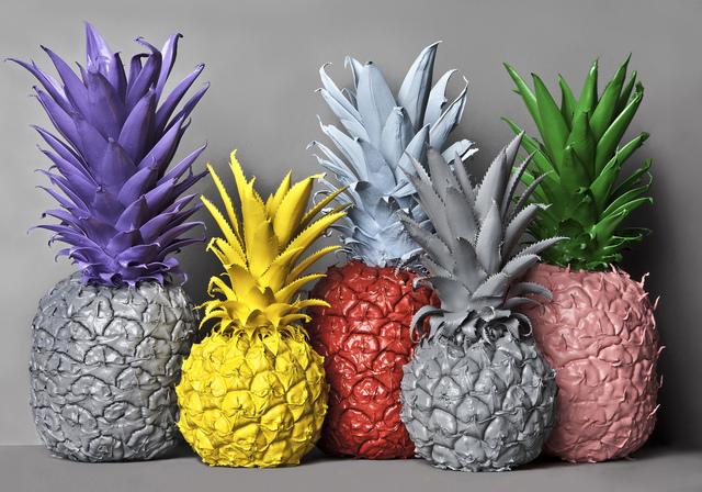 Clara Hallencreutz, ' No Artificial Colours (Pineapples) ', 2013, Galleri GKM