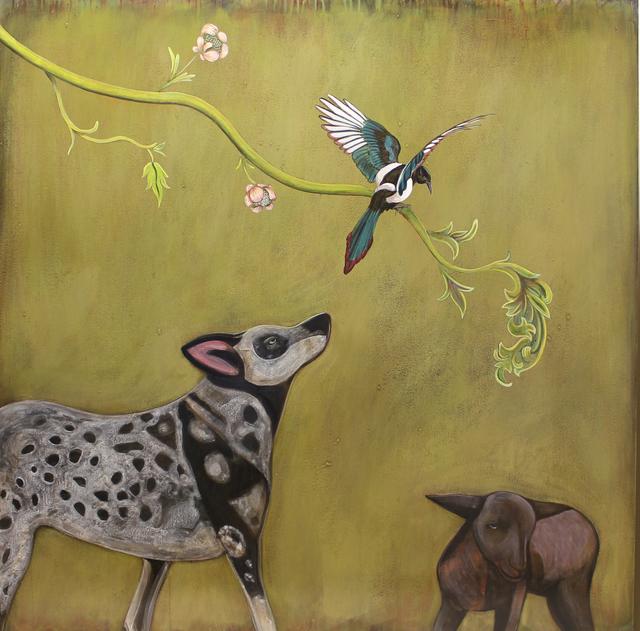 , 'Blue Heeler,' , Sorrel Sky Gallery