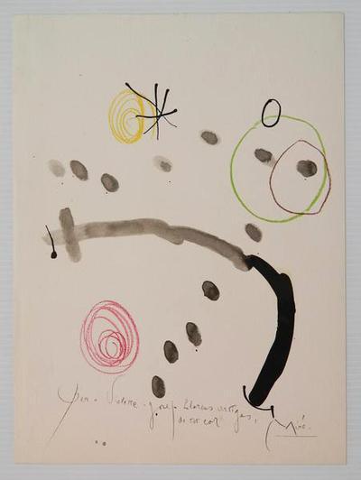 Joan Miró, 'Quelques Fleurs pour des amis #2: Artigas', 1964, Caviar20