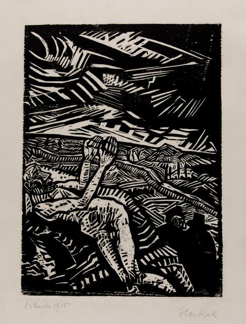 , 'Verwundeter (Der barmherzige Samariter),' 1915, Henze & Ketterer
