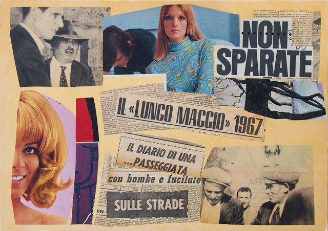 , 'Non Sparate,' 1967, Galleria Clivio