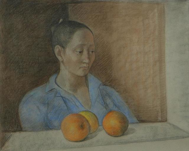 , 'Mujer con Naranjas,' 1982, Stern Fine Art