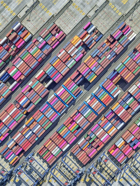 , 'Newark Port 9,' 2019, Bau-Xi Gallery