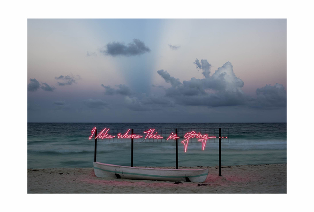 Olivia Steele, 'I Like Where This Is Going (dusk)', 2017, Photography, Cotton Paper 190 grs. Hahnemuhle, William Turner, MAIA Contemporary