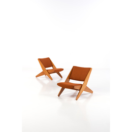 "Model ""Ficks Folder"" - Pair of Easy Chairs - Limited Edition"