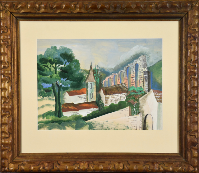 Ossip Zadkine, 'Le Village à l'Aqueduc', 1928, Stern Pissarro