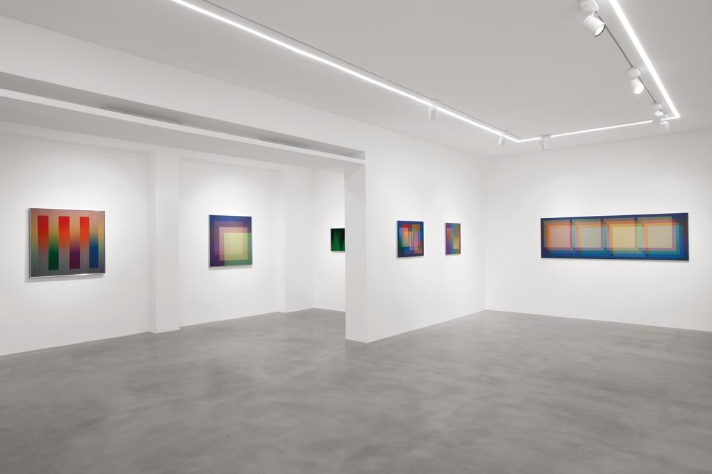 Carlos Cruz Diez Colore Come Eventi Di Spazi Dep Art