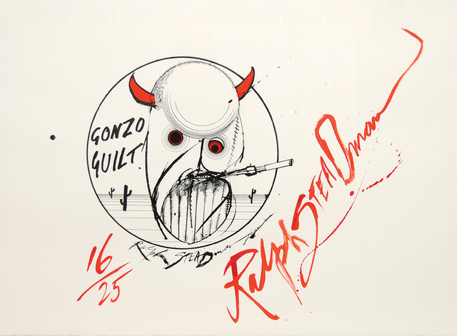 , 'Gonzo Guilt! (Hunter S. Thompson.),' 2006, Peter Harrington Gallery