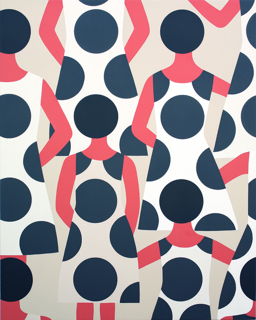 , 'Us As A Pattern,' 2014, V1 Gallery