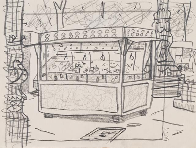 François Boisrond, 'Kiosque', 1990, Digard Auction