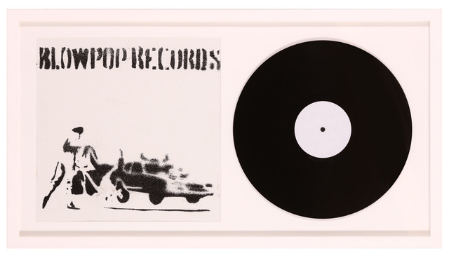 Banksy, 'Blowpop Records', 1999, Chiswick Auctions