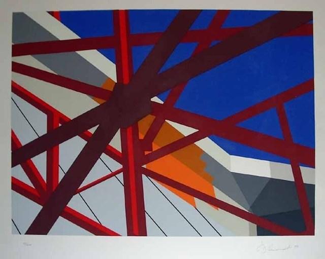 Allan D'Arcangelo, 'Web', Grob Gallery
