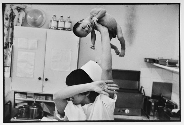 Leonard Freed, 'Pediatric nurse in the maternity ward, Israel', 1973, Gallery 270