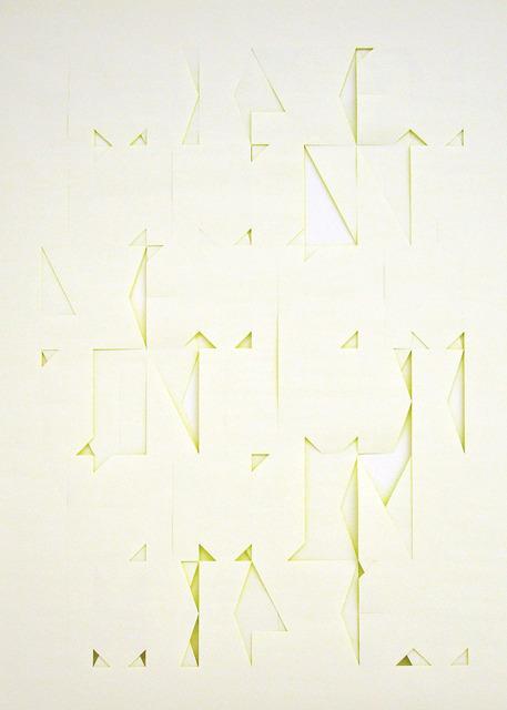 , 's/t (serie Excritura), 2011-13,' 2013, Art Nueve