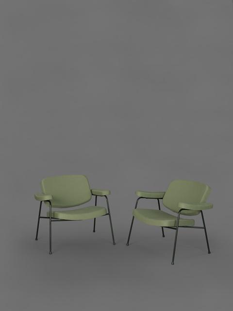 , 'Pair of armchairs CM190F,' 1958, Galerie Pascal Cuisinier