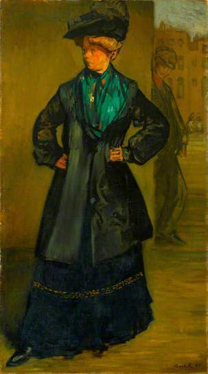 , 'The Coster Girl,' 1907, Ben Uri Gallery and Museum