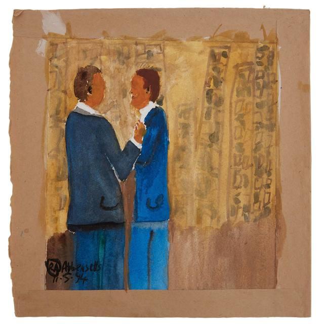Rowan Abbensetts, 'Two Men', 1994, Doyle