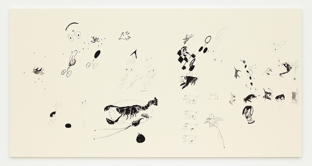 , 'Automatic Drawing #20,' 2016, David Kordansky Gallery