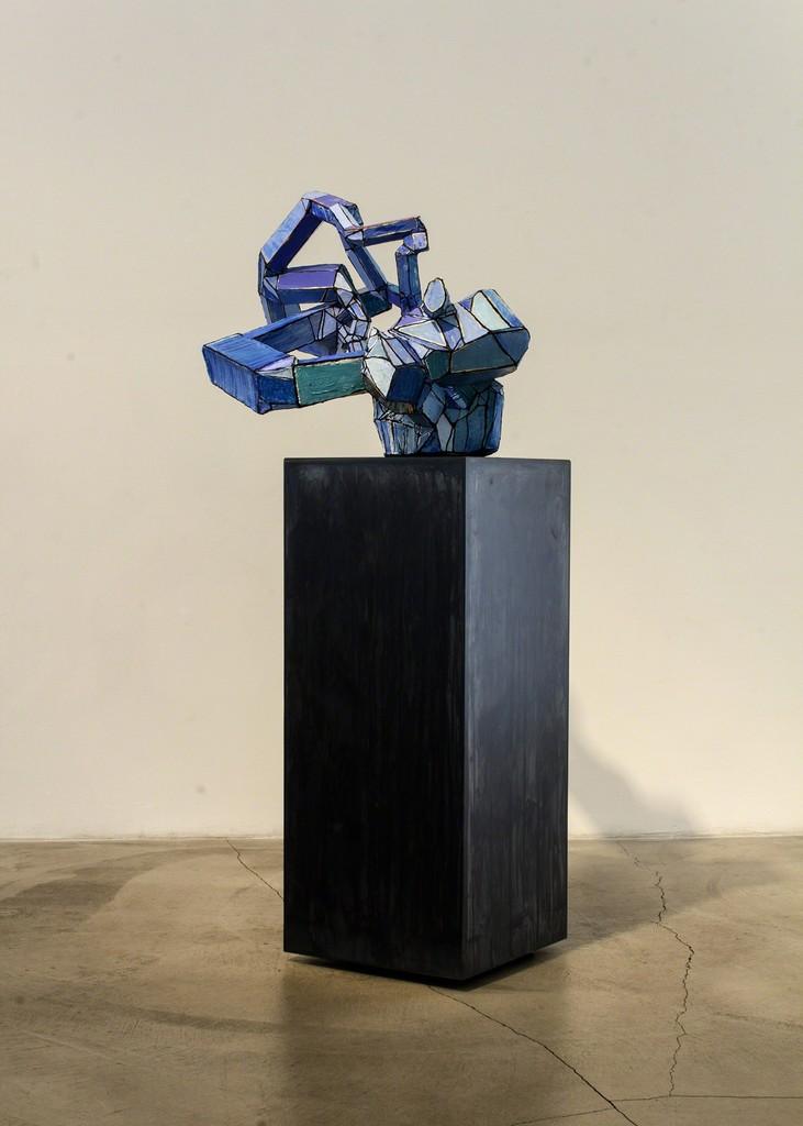 Maura Bendett, 'Blue Sculpture,' 2013, Edward Cella Art and Architecture