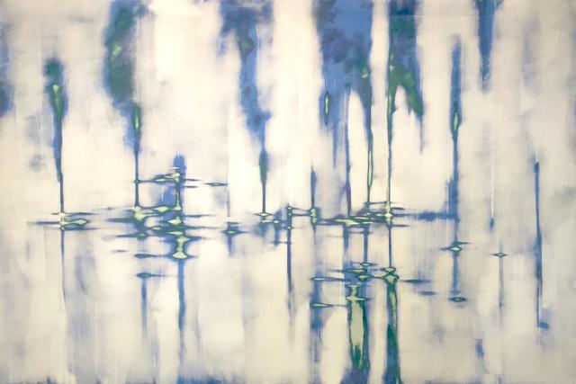 , 'Blue Sound,' 2017, George Billis Gallery