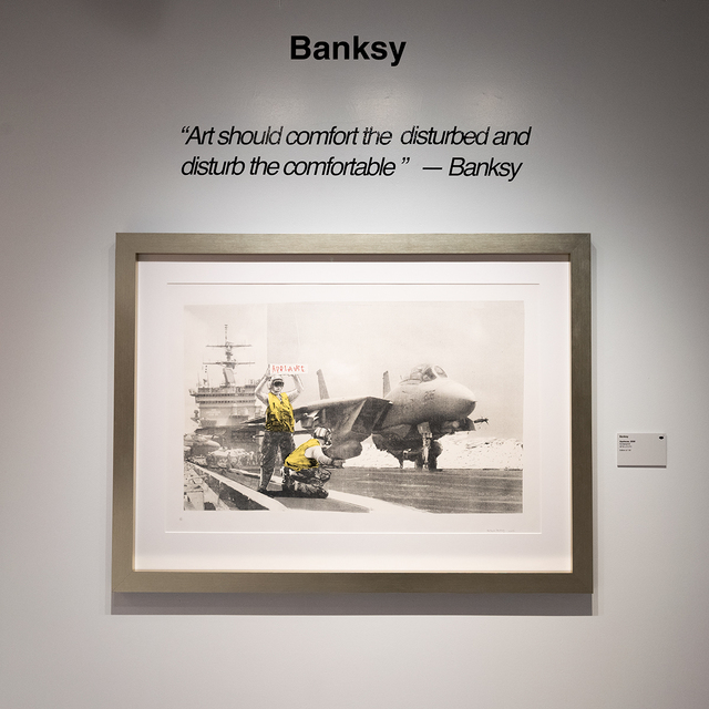 Banksy, 'Applause', 2006, Mixed Media, Screenprint, Provocateur Gallery