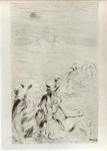 Pierre-Auguste Renoir, 'Sur La Plage, A Berneval', 1919, Galerie d'Orsay