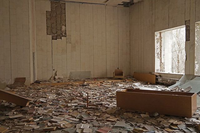 , 'Fieldnote 25-03-14 (Pripyat, Chernobyl),' 2015, PROYECTOSMONCLOVA