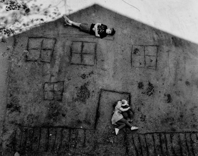 , 'Laura and Brady in the Shadow of Our House,' 1994, Jackson Fine Art
