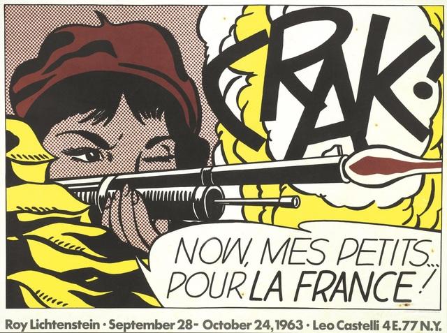 Roy Lichtenstein, 'Crack!', Pandolfini
