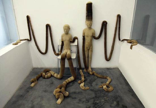 , 'Little Man and Woman,' 2011, Eternal Art Space
